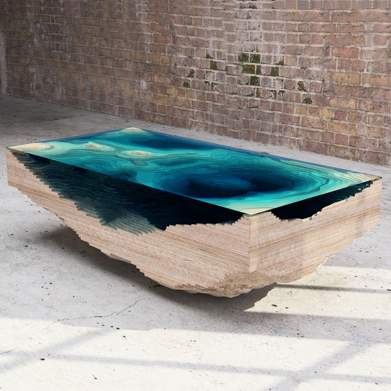 Pictured: The Abyss Table by Duffy London.  Photos © Duffy London unless otherwise noted.