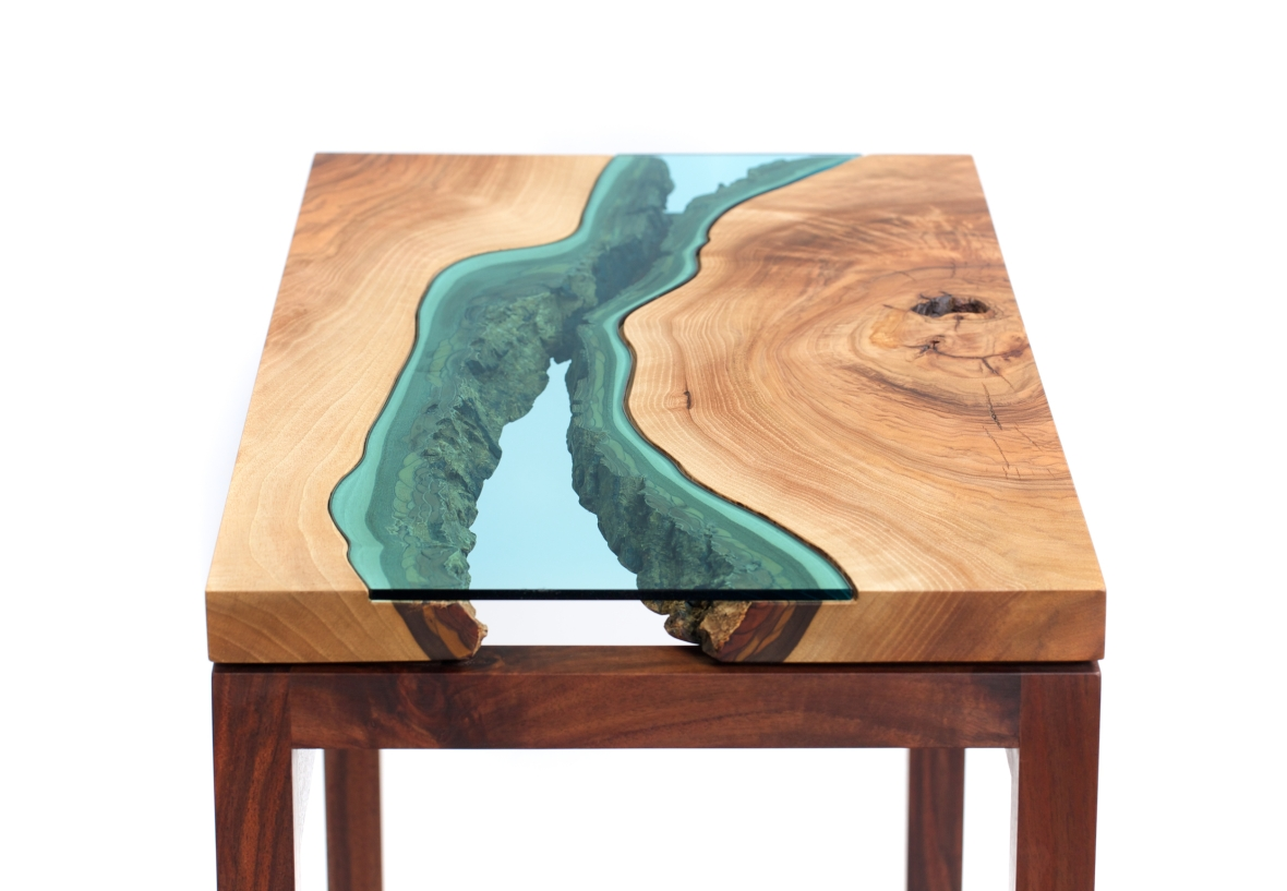 Pictured: River Entry Table by Greg Klassen. Photos © Greg Klassen unless otherwise noted.