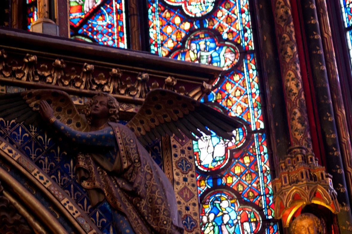 Sainte-Chapelle Stained Glass Art France